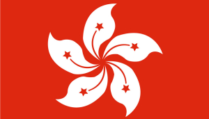 Flag of Hong Kong , China